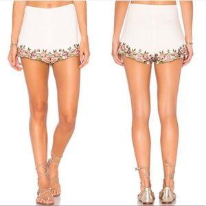 Show Me Your MuMu Ashton Rosey Posey Floral Shorts